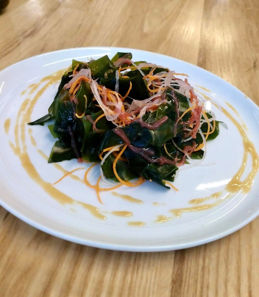 OKO seaweed salad using Stonington Kelp Co. sugar kelp.