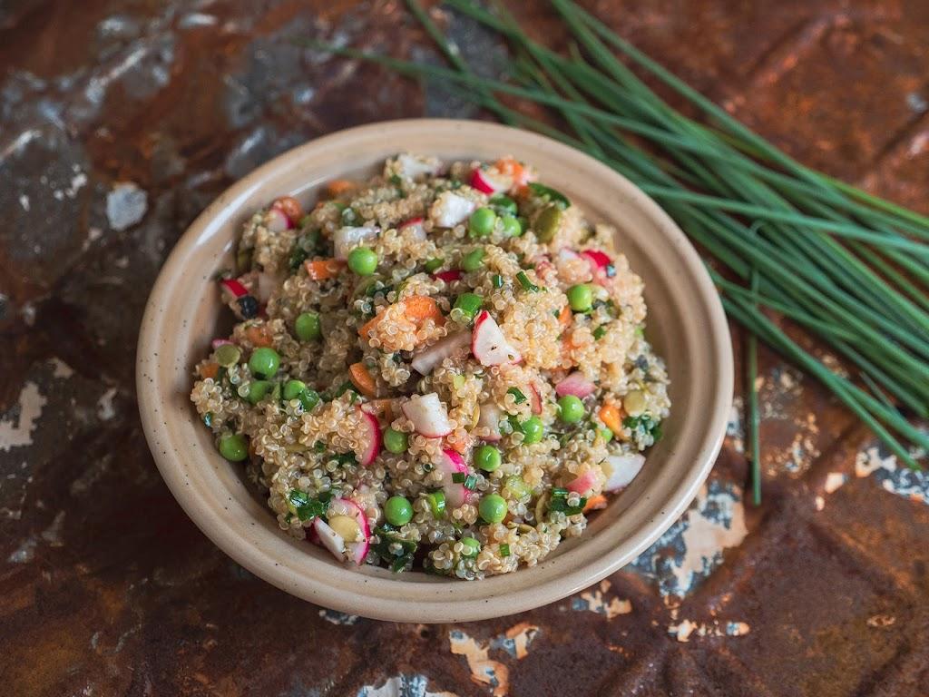 Easy Quinoa Salad   Local Food Rocks