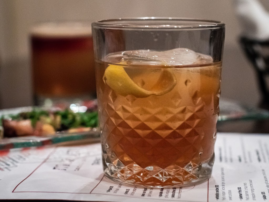 Apple of my rte cocktail at Mezon | Local Food Rocks
