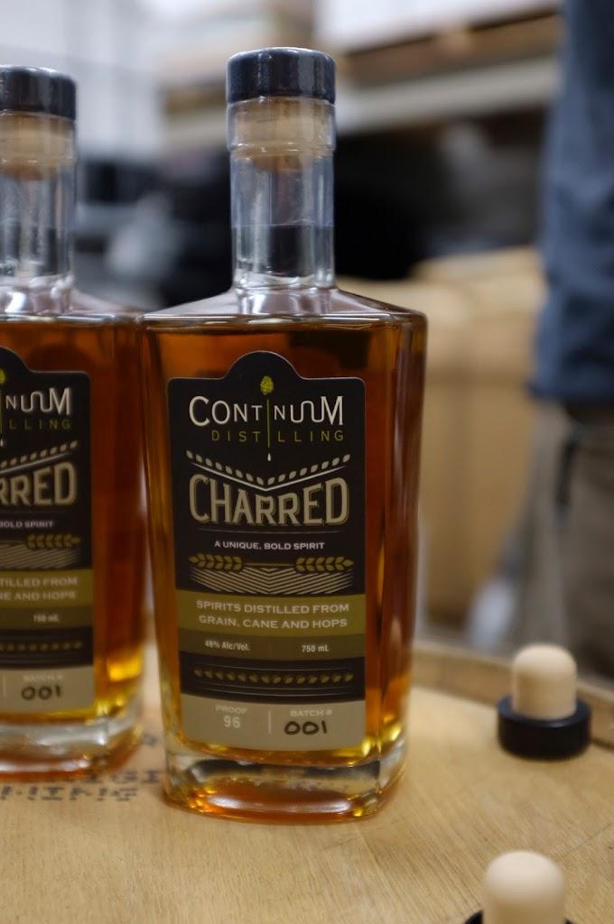 Continuum Distillery Charred whiskey | Local Food Rocks