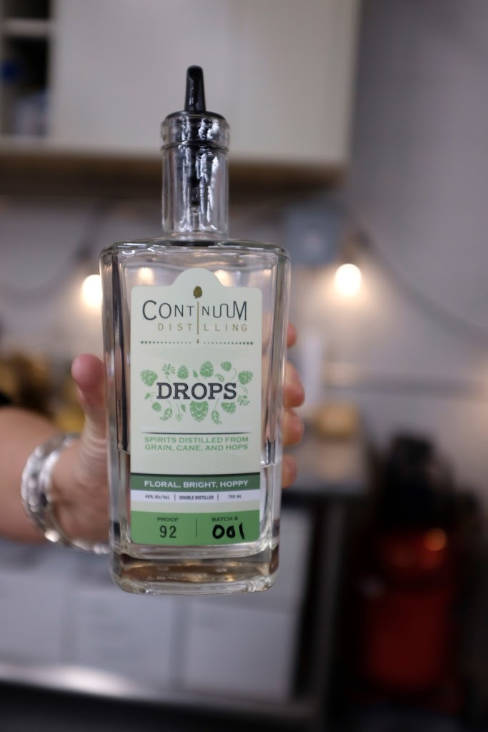 Continuum Distilling Drops, distilled from craft IPA's | Local Food Rocks